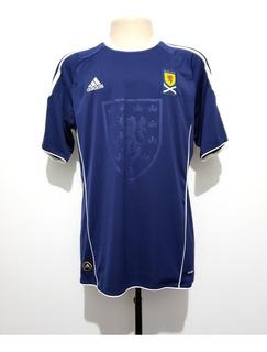 Camisa Futebol Oficial Seleção Escócia 2010 Home adidas