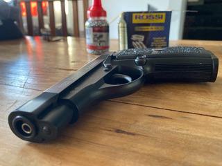 Pistola Esfera Metal Red Alert Rd-compact Full Metal 4.5 Mm