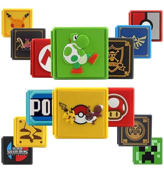 Premium Card Case Nintendo Switch - Várias Versões