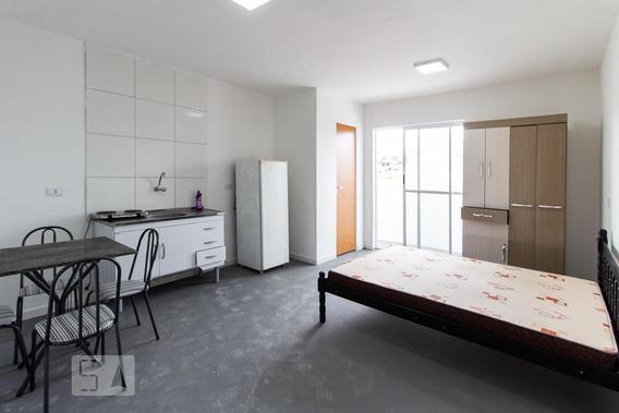 Studio No 1º Andar Mobiliado Com 1 Dormitório - Id: 892935393 - 235393