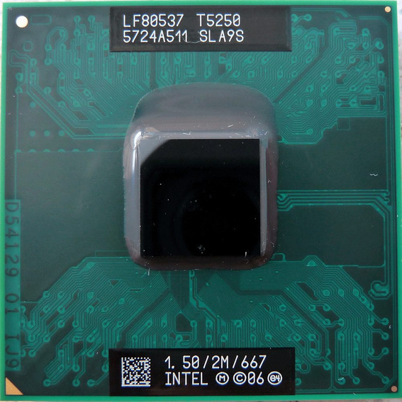 Processador Intel Core 2 Duo 1.50ghz 2m 667 T5250 - Sla9s