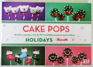 Libro Cake Pops Navidad En Español Repostería Bakerella Dkh