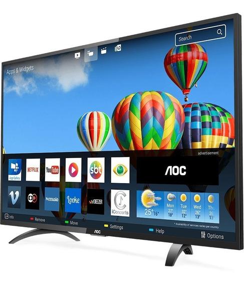 Tv Led 43 Smart Aoc Hd Le43 Com Conv. Digital Integrado