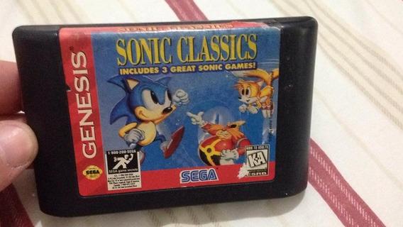 Sega Genesis Sonic Classics Collection Mega Drive R$126,99