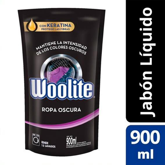 Jabón Líquido Ropa Oscura Repuesto Woolite 900 Ml