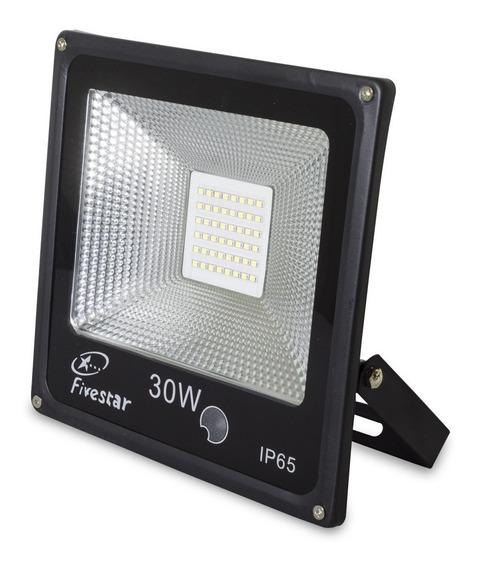 Refletor Led 30w Smd Sensor Fotocelula Acende A Noite