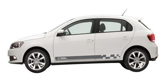 Adesivo Volkswagen Gol G2 G3 G4 G5 G6 Faixa Lateral Gol23