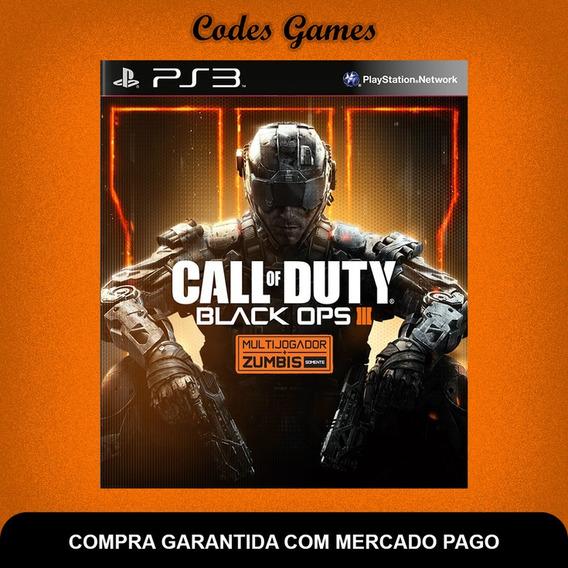 Call Of Duty Black Ops Iii 3 Português Ps3 - Pronta Entrega