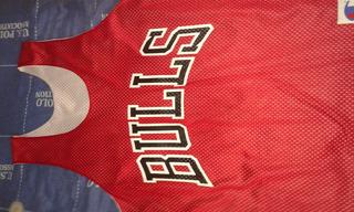 Jersey De Entrenamiento De Los Bulls De Chicago Reversible