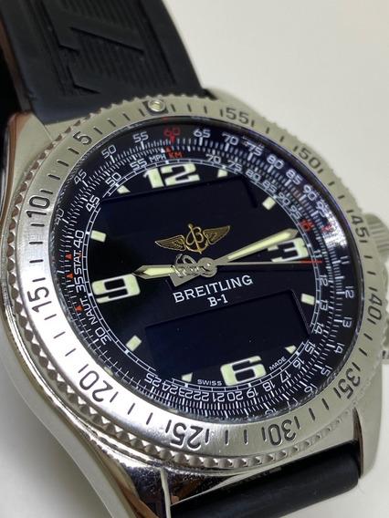 Relógio Breitling B1 B-1 43mm Pulseira Borracha A68362