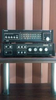 Amplificador Sintonizador Philips 527.
