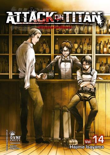 Imagen 1 de 1 de Manga, Kodansha, Attack On Titan 14. Ovni Press