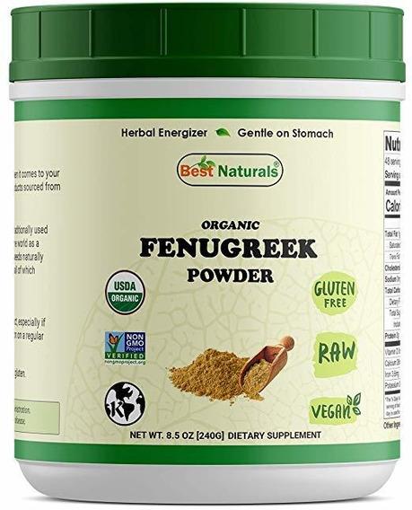 Mejor Semilla Naturals Orgánico Certificado De Fenogreco En