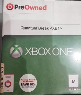 Videojuego Xbox One - Quantum Break Cd Fisico