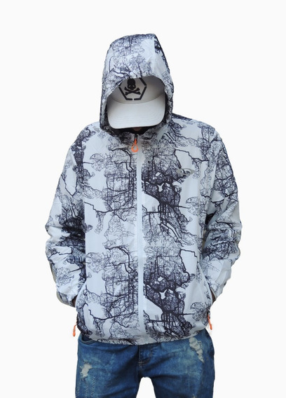 Blusa Corta Vento Oakley Jaqueta Impermeavel Masculina