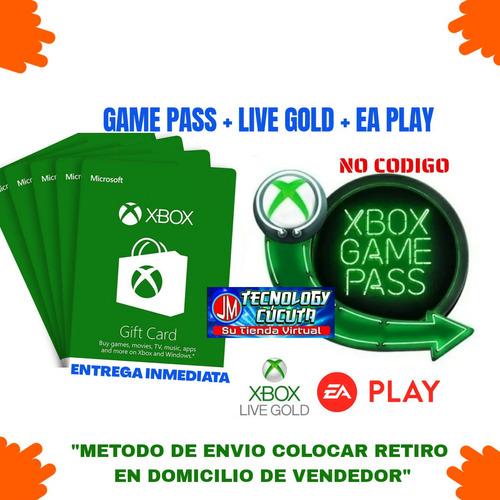 Xbox Live Gold 1 Mes + Game Pass Ultimate. Entrega Inmediata