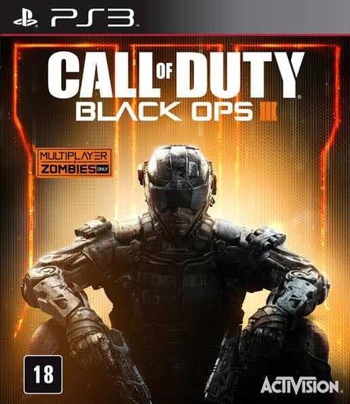 Call Of Duty Black Ops 3 - Ps3 Mídia Digital + Jogo Brinde
