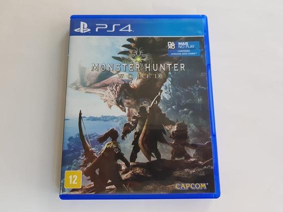 Monster Hunter World - Ps4 - Midia Fisica - Original