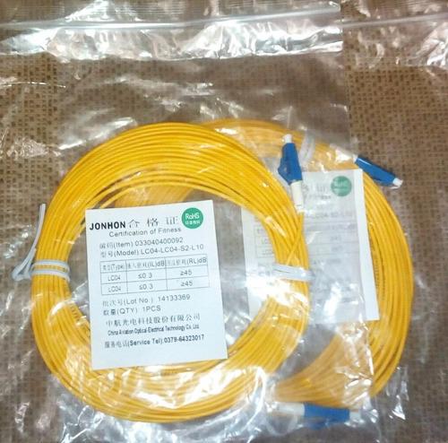 Imagen 1 de 2 de Path Cord Fibra Optica Lc-lc 10mts