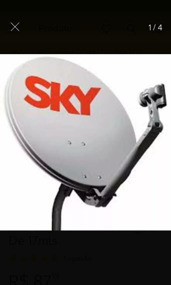 Antenas Banda Ku Com Logos Da Claro Tv E Sky.
