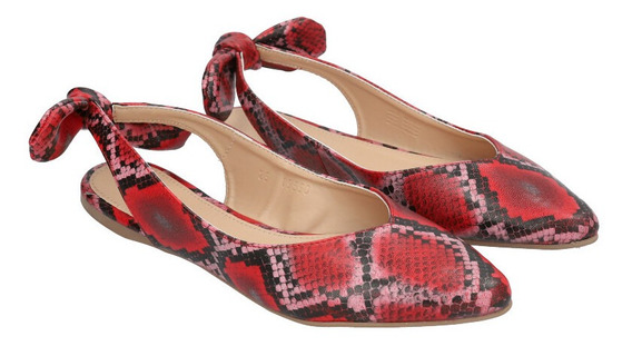 Zapato Puntal Destalonado De Mujer C&a