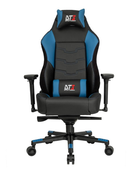 Cadeira Gamer Dt3sports Orion Black Blue Linda