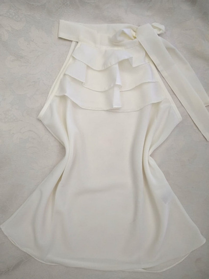 Blusa Crepe - Branco