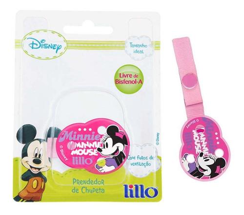 Prendedor De Chupeta Disney Minnie Lillo