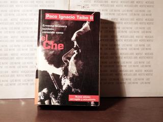 Libro Físico El Che Guevara Paco Ignacio Taibo 2 Booket