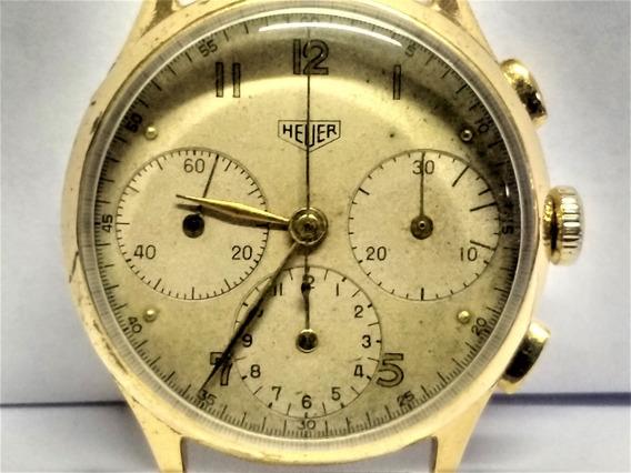 Relógio Cronógrafo Antigo Raro Hauer & Cº 1940 Valjoux 71