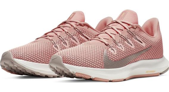 Tenis Running Nike Pink Wmns Quest 2 De Mujer Originales