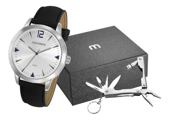 Relógio Masculino Mondaine Chaveiro Ferramenta 53810g0mgnh7