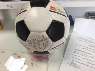 Bola Da Copa 2002 Do Leilão Pelé
