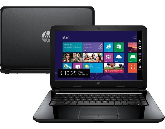 Notebook Hp 14-r052br I5 4gb 500gb Windows 14