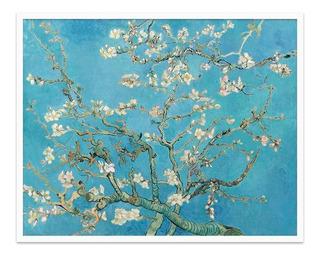 Cuadro Fine Art Almendro En Flor Van Gogh 56x70 M Y C