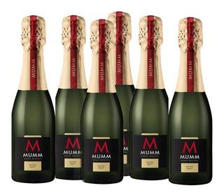 Champagne Mumm Cuvee Reserve Extra Brut 187ml X 6 Unid