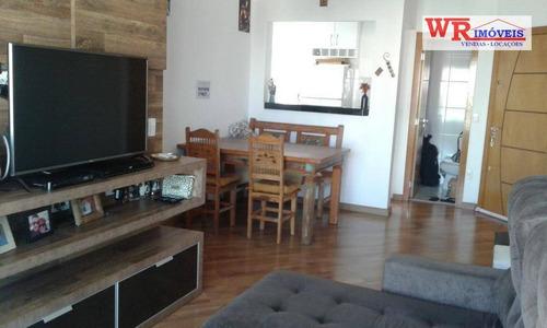 Apartamento Com 2 Dormitórios À Venda, 71 M² Por R$ 424.000,00 - Centro - São Bernardo Do Campo/sp - Ap2269