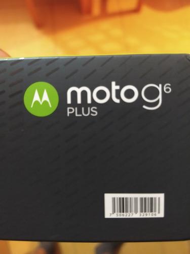 Moto G 6 Plus  64 Gb Liberado Caja Compmeta.