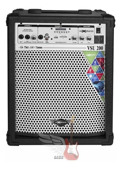 Caixa Multiuso Voxstorm Vsu 200 Fal. 8 35 Watts Rms