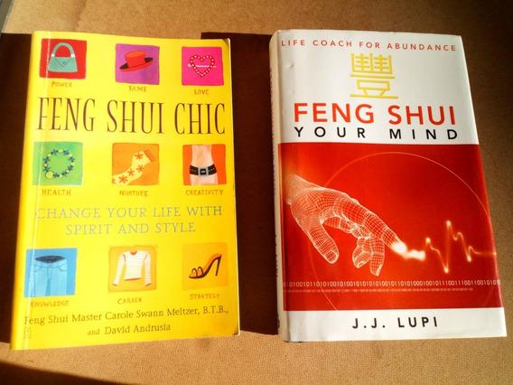 Livro Feng Shui 2 Livros Em Inglês