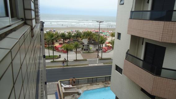 Apartamento Temporada Na Praia Grande De Frente Para O Mar