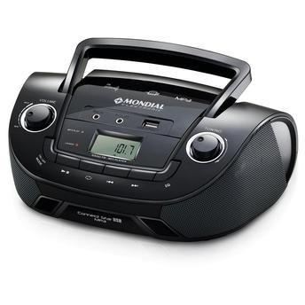 Rádio Nbx-06 Entrada Usb Rádio Fm Mp3 Player Mondial