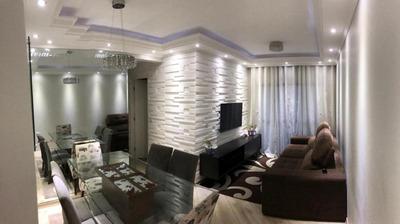 Apartamento Com 3 Dormitórios À Venda, 67 M² - Vila Rio De Janeiro - Guarulhos/sp - Ap6033