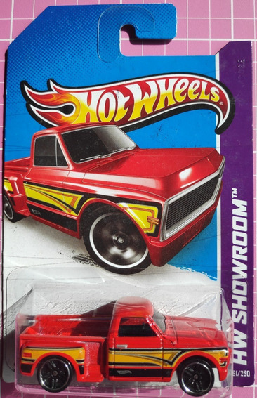 Hw - Hot Wheels - Custom 69 Chevy Pickup - 1/64