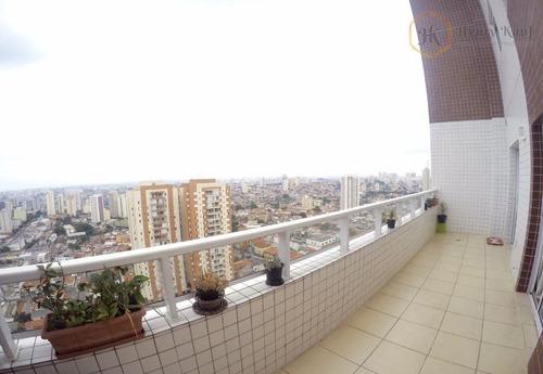 Imagem 1 de 30 de Cobertura Duplex, 4 Suítes, 4 Vagas, Distante 350m Do Metrô Alto Do Ipiranga, Alto Do Ipiranga, São Paulo. - Co0060