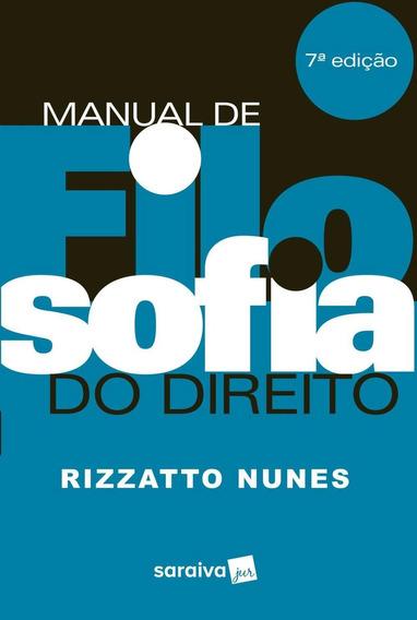 Manual De Filosofia Do Direito - 7 ª Ed. 2018