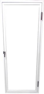 Raja De Abrir Aluminio Blanco Vidrio Entero De 40 X 1