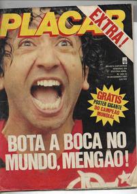 Placar Extra 604-a! Flamengo, Campeão Do Mundo! Sebo Da Bidi