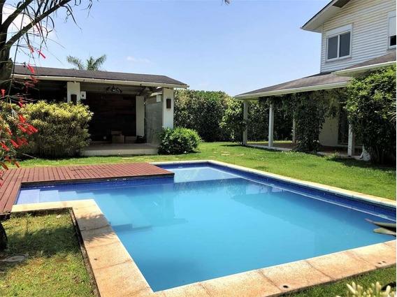 Casa Para Alugar - 4 Suítes - Piscina - A.c 501m² - Cond. Jd. Das Paineiras - Granja Viana - 749 - 34620273