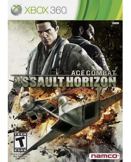 Ace Combat Assault Horizon - Xbox 360 - Novo - Mídia Física